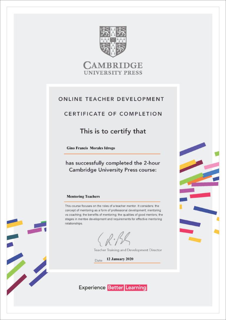 curso para profesores